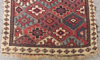Old Shahsevan Bagface Size.50x45cm