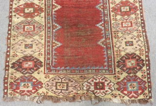 Central Anatolian Karaman Prayer Carpet Size.148x96cm