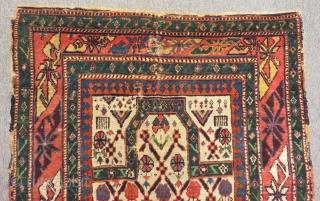 Old Caucasian Sirvan Marasali Carpet Size.134x95cm