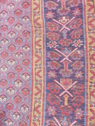 Very Good Full condition  Shahsevan Carpet Size.320x104cm