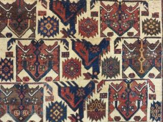 Old AVŞAR Carpet Size.110x106cm