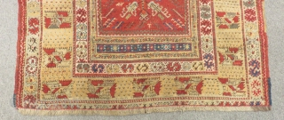 West Anatolian Selendi Prayer Rug Size.162x130cm