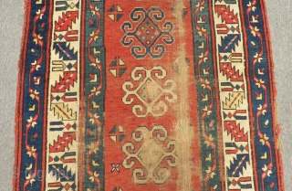 Antique Shahsavan Runner Rug Size.375x92cm