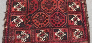 Antique Baluch Rug Size.210x90 Cm