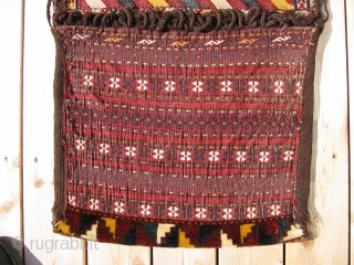 "Ersari saddlebags, 1st Qtr. 20th C., 1'10"" x 3'10"""