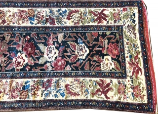 """Very Attractive Luri Bakhtiari Hallway runner. Is in awesome condition for its age. Measures 3'-6"""" x 16'-10""""."""