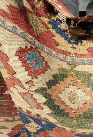 Fascinating KHALAJ kilim 