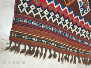 Authentic Qashqai kilim 