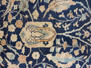 This carpet is a kirman or yazd, 270 x 370 cm
