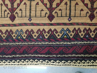 Baluch sofreh , with amazing tree design Patterns are needlework Circa 1950, 145 * 150 cm collectors  most wanted