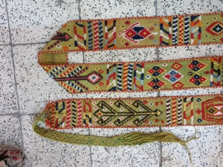 Qashqai strap ,aged almost 80 years 