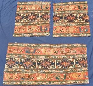 Panels of a shahsavan mafrash  Circa 1920
