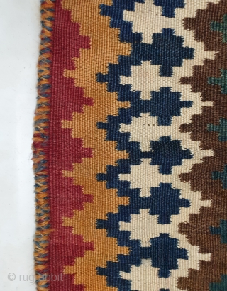 Authentic lori kilim,excellent condition  ,no repairs,have nice abrashes in blues