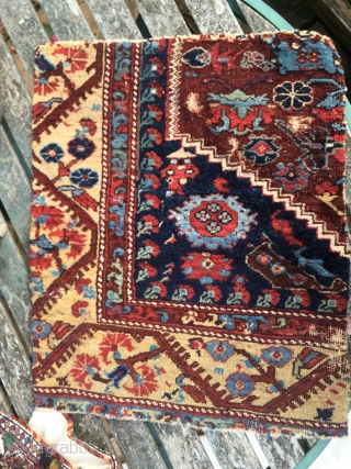 Anatolian Khula rug fragment 50*59 cm circa 1800
