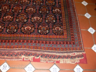REF 1439 Antique Afshar rug of venerable age and fine quality. 6'11 x 5'9 - 210 x 174