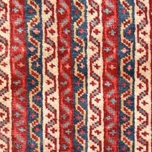 Ref 1422 Khamseh saddlebag, complete all natural dyes. 19th Century.