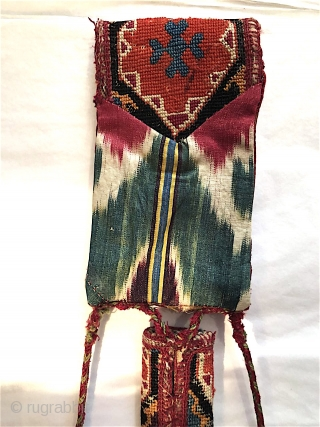 Uzbek embroidered knife sheath, late nineteenth century