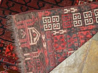 Ref 1477 Arabatchi Engsi circa 1900. 5'4 x 4'6 - 167 x 142 In original condition - no restoration