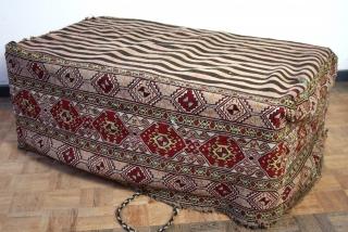 "Mafrash, Shahsavan, N- Iran, early 20th century.  Soumack.  Wide 106 Cm's. 42"" high 40 Cm  16"" deep  24"""