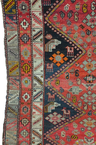 Fragment, Armenian, Karabach, Kaukasus, Antique 1900. 