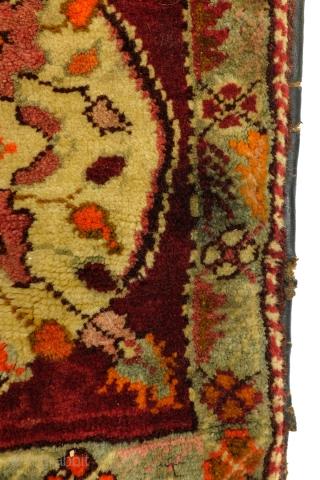 Antique saddle bag, original, turkish, 1900, 135 x 48 Cm. 4.5 ft. x 1.6 ft.