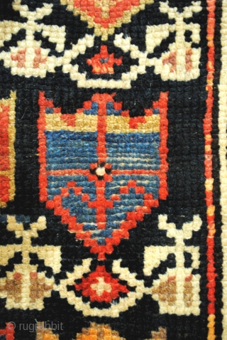 Small rug or bag face, North Iran. 