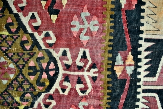 Dowry kilim, Hotamis, Konya region. Antique. 