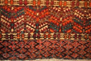 Turkmen Tekke Hatchlou, ensi    101 x 155 Cms.  early 20th century.