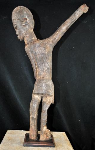 Lobi, gardian statue, 1900 - 1920.  High 65 Cm.