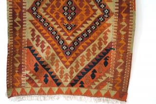 Sivas, kilim, prayer rug for a child. 67 x 112 Cm.