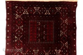 Delatabat Hadjlou, Engsi gul, mid 20th century, 260 x 108 Cm.