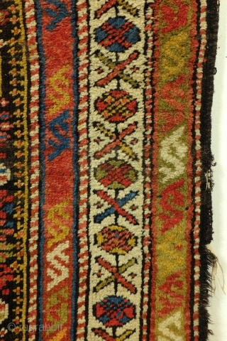 Moghan, Caucasus, antique around 1900, needs love, respect and restauration. 