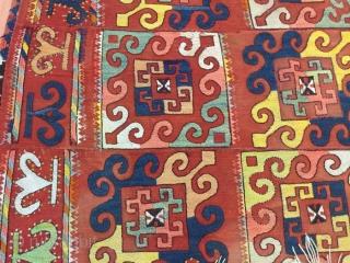 Kilim Uzbekistan, 360 x 140 Cm.