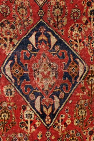 Highly collectable Qashqai, 1860 - 1880. 