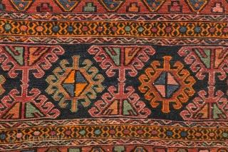 Mafrash, Shasavan 100 x 86 Cm. Mid 20th century.  Fine condition.