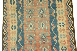 two kilims, one family, I 145 x 125 Cm. and II 143x 100 Cm. 