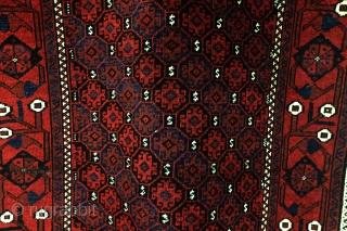 Belouch, Turbat-i-Haidar, great condition, no issues, deep glow.  190 x 100 Cm. 6.3 feet x 3.3 feet. Clean.