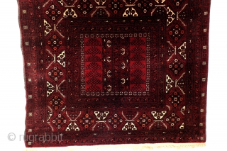 Turkoman Ersari area rug, 265 cm x 170 cm. 8.8 feet x 5.6 feet. 