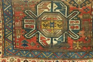 Fragment, Kaukasus, Karabach, 19th century, ca 130 x 70 cm.