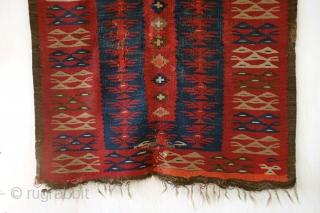 'Sarkoy' kilim from Bulgaria, 19th century.  110 x 185 Cm.