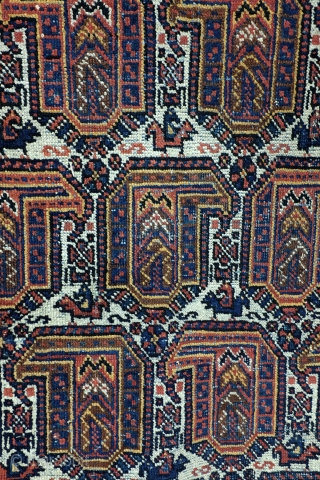 Large Afshar, 274 x 225 Cm. 9.1 feet x 7.5 feet. 