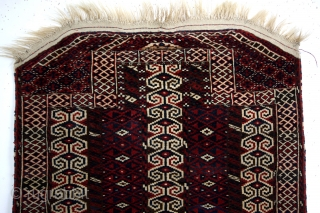 Turkmen Ersari Yomut Salachak, saddle blanket. 