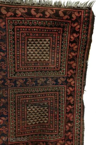 Turkmen Ersari Beshir, 19th. century. 183 x 82 Cm. Natural colors.  collectable.   See Uwe Jourdan, Battenberg, Band 4, Turkmenische Teppiche.