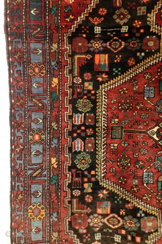 Kourdish Malayer, great pile, clean, 260 x 160 Cm. 8.6 feet x 5.3 feet. 