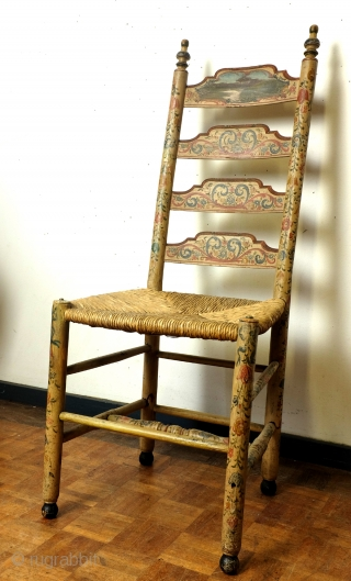 I proudly present: Hindelopen Stoel. 