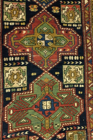Shirvan area, Caucasus, antique, fine condition, 330 x 103 Cm. 11 ft. x 3.5 ft.