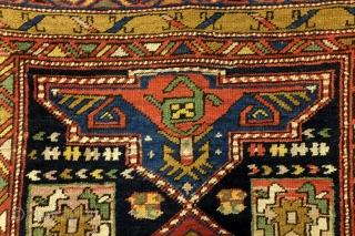 Shirvan area, Caucasus, antique, fine condition, 330 x 103 Cm. 11 ft. x 3.5 ft.