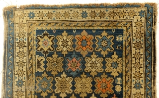 "Antique Chi-Chi, North Shirvan, beautifully worn, 87 x 75 Cm. 35""x 30""."