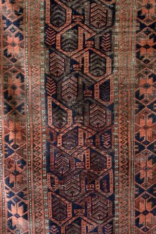 Belouch, 1880 , Turbat-i-Haidar area.  150 x 80 Cm's.