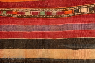 Shahsavan kilim, in very good condition, 230 x 115 Cm. 7.6 ft. x 3.8 ft.